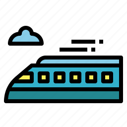 railroad, railway, train, trains, transport icon
