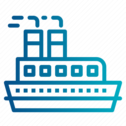 boat, cruise, ship, transport, yacht icon