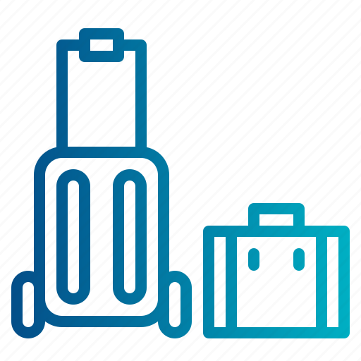 baggage, luggage, suitcase, travel, travelling icon