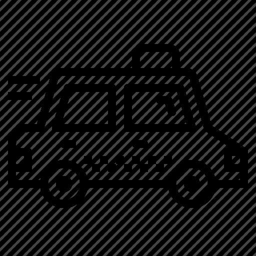 cab, car, public, taxi, transport icon