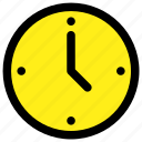 clock, day, time, watch icon