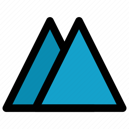 Camp, mount, mountain, travel icon - Download on Iconfinder