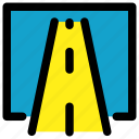 map, road, transportation, way icon