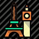 architectonic, building, landmark, monuments icon