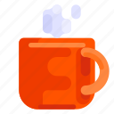 coffee, cup, drink, holiday, tea, travel, vacation icon