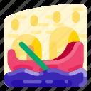 gondola, holiday, italy, romance, travel, vacation icon