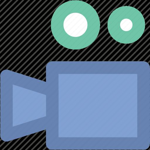 camera, film camera, film recorder, movie camera, movie shoot, shooting camera icon