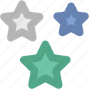 hotel ranking, ranking star, rating star, star ornament, stars, three star hotel, three stars icon
