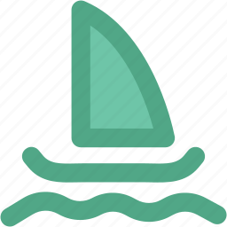 boat, cruise, sailing boat, sea, ship, vessel, water transport, yacht icon