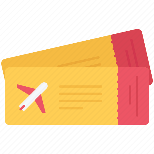 Airplane, holidays, ticket, tickets, tour, travel icon - Download on Iconfinder