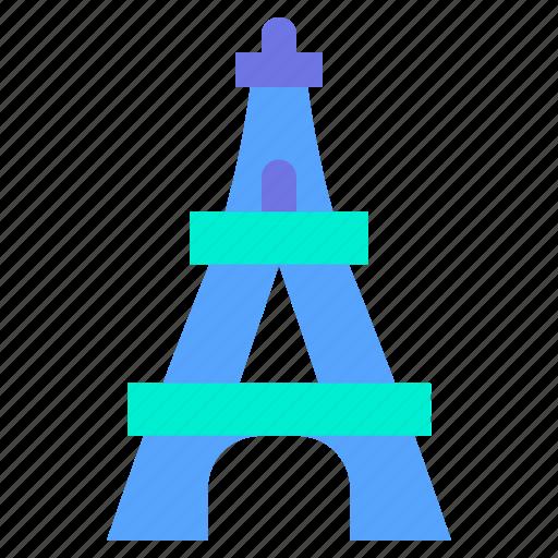Eiffel, landmark, paris, tower, travel icon - Download on Iconfinder