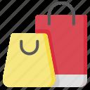 bag, shopping, shopping bag, travel icon