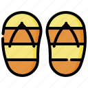 flip, flop, holiday, travel, vacation icon