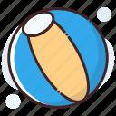 ball, beach ball, game, sports ball, volleyball icon