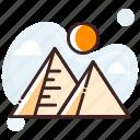 giza pyramid, pyramid, egypt, monument, egypt pyramids icon