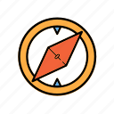 .svg, compass, direction, guide icon