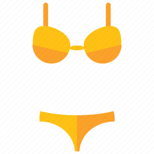 bathing, bikini, clothes, clothing, summer, travel icon