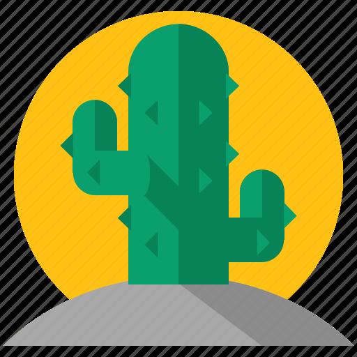 cactus, desert, holiday, nature, travel, tree icon