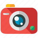 camera, device, holiday, travel, vacation icon
