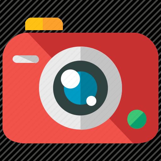 camera, device, holiday, travel, vacation icon