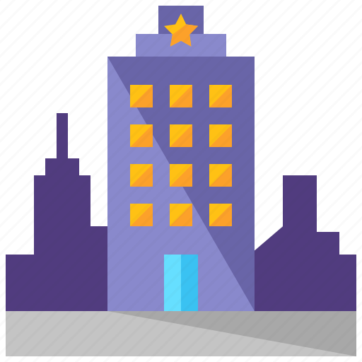 building, city, holiday, travel, vacation icon