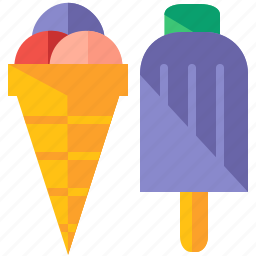 cream, food, ice, snack, summer, sweet, travel icon