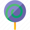 candy, holiday, lollipop, sweet, travel icon