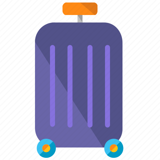 baggage, holiday, luggage, travel, vacation icon