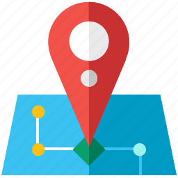 location, map, maps, navigation, pointer, travel icon