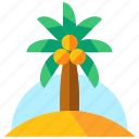 holiday, palm, summer, travel, tree, vacation icon