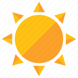 heat, holiday, summer, sun, sunny, travel, weather icon
