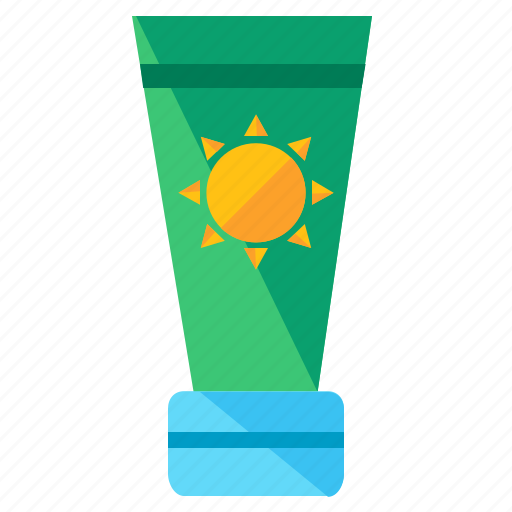 cream, holiday, lotion, protect, summer, sunscreen, travel icon