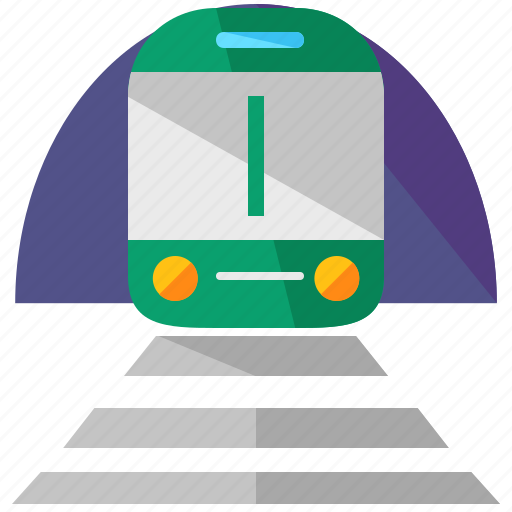 holiday, train, traintrack, transportation, travel icon