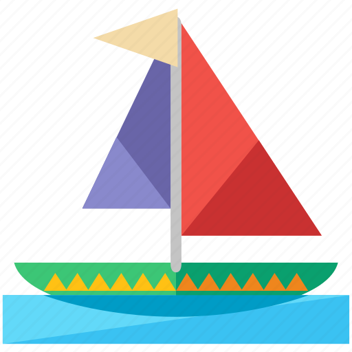 activities, boat, transportation, travel, water icon