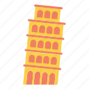 architecture, culture, italy, leaning, pisa, tower, travel