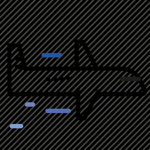 air, plane, transportation, travel icon