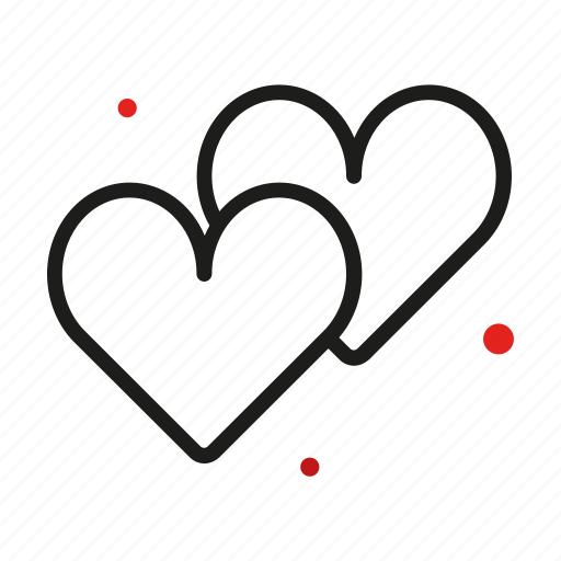 couple, de, heart, honeymoon, love, luna, miel icon