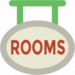 hanging board, info board, room board, rooms info, rooms signboard, signboard icon