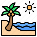 beach, sea, ocean, summer, travel, holiday, vacation