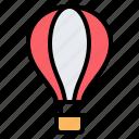 hot air balloon, fly, flight, transportation, vacation, travel, holiday