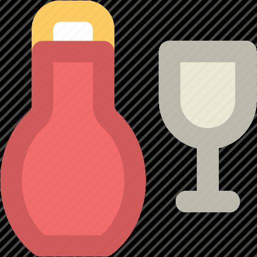 alcohol, champagne bottle, drink, drink bottle, glass, wine, wine bottle icon