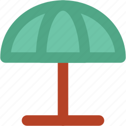beach umbrella, canopy, parasol, rain protection, sun protection, sunshade, umbrella icon