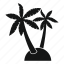 exotic, nature, palm, plant, summer, tree, tropical icon