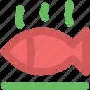 cooked fish, fish, food, healthy food, raw fish, seafood icon