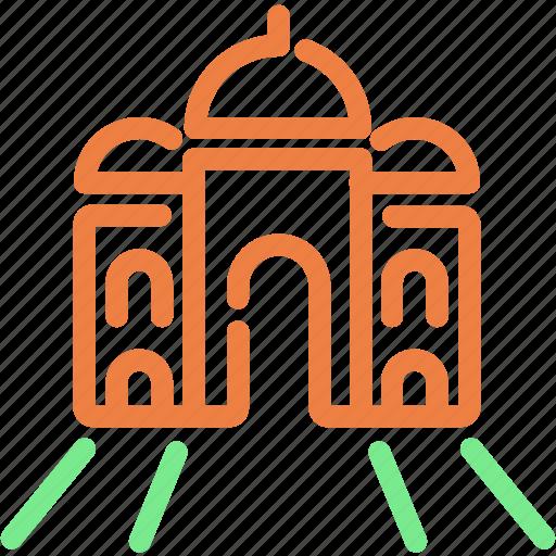 asia, india, landmark, religion, taj mahal icon