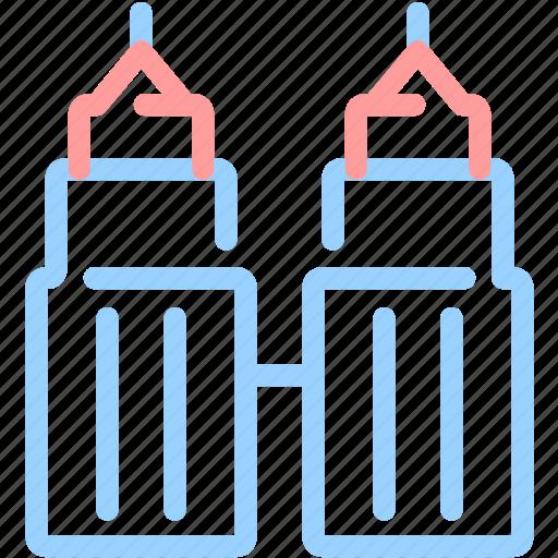 asia, building, landmark, malaysia icon