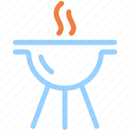 barbecue, bbq, brazier, cooking, food icon
