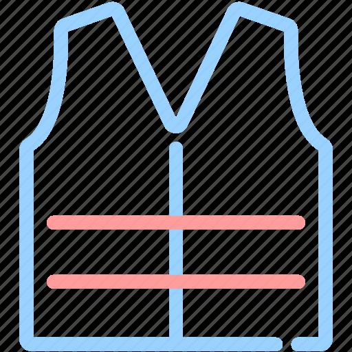 air jacket, life jacket, life vest, sea, swim icon