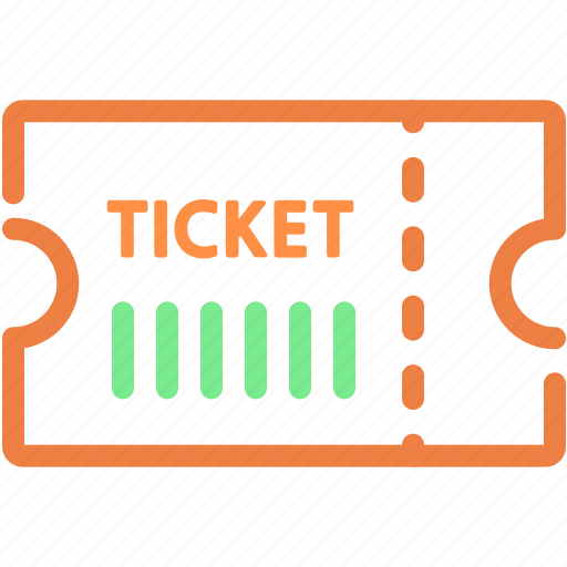 cinema, entertainment, film, movie, ticket icon