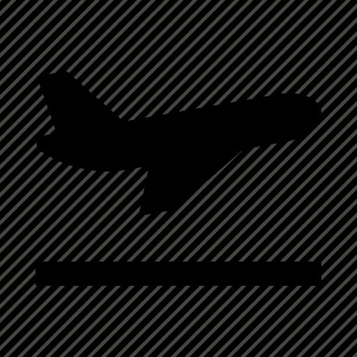 aircraft, airplane, departure, plane, ship icon